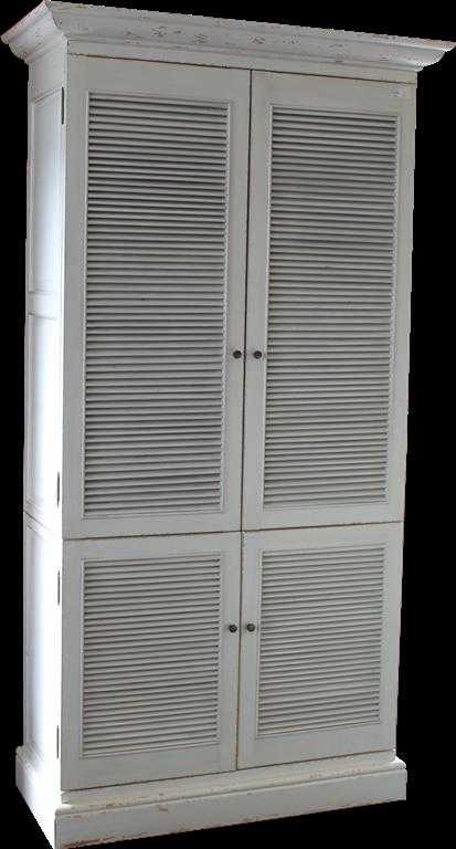 Fonkelnieuw linnenkast met louvre deuren - Vredeveld Meubelen SY-71